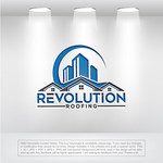 Revolution Roofing Logo - Entry #291