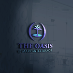 The Oasis @ Marcantel Manor Logo - Entry #34