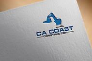 CA Coast Construction Logo - Entry #145