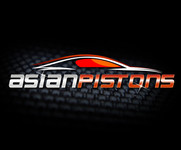 Asian Pistons (maybe with .com) Logo - Entry #43