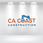 CA Coast Construction Logo - Entry #121