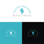 Twisted Turquoise Boutique Logo - Entry #46