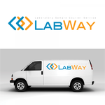 Laboratory Sample Courier Service Logo - Entry #83
