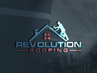 Revolution Roofing Logo - Entry #67