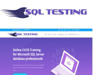SQL Testing Logo - Entry #191
