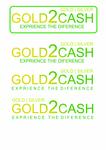Gold2Cash Logo - Entry #23