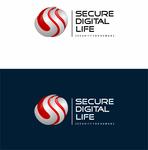 Secure. Digital. Life Logo - Entry #69