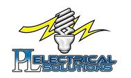 P L Electrical solutions Ltd Logo - Entry #107