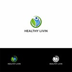 Healthy Livin Logo - Entry #505