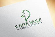 White Wolf Consulting (optional LLC) Logo - Entry #262