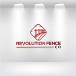 Revolution Fence Co. Logo - Entry #185