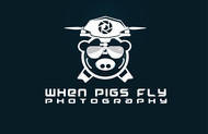 When Pigs Fly Photography Logo - Entry #12