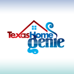 Texas Home Genie Logo - Entry #43