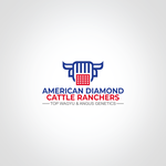 American Diamond Cattle Ranchers Logo - Entry #196