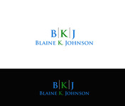 Blaine K. Johnson Logo - Entry #50