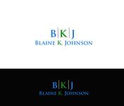 Blaine K. Johnson Logo - Entry #50