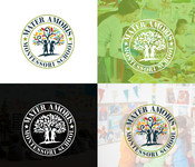 Mater Amoris Montessori School Logo - Entry #174