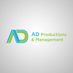 Corporate Logo Design 'AD Productions & Management' - Entry #73