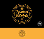 Hammer and Heels Logo - Entry #7