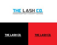 the lash co. Logo - Entry #117