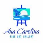Ana Carolina Fine Art Gallery Logo - Entry #116