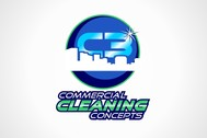 Commercial Cleaning Concepts Logo - Entry #99