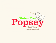 gluten free popsey  Logo - Entry #91