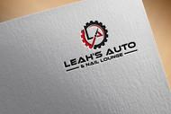 Leah's auto & nail lounge Logo - Entry #124
