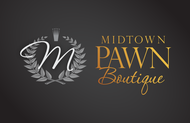 Either Midtown Pawn Boutique or just Pawn Boutique Logo - Entry #98