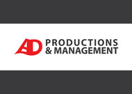 Corporate Logo Design 'AD Productions & Management' - Entry #45