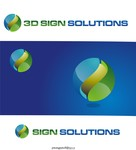3D Sign Solutions Logo - Entry #38