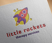 Little Rockets Therapy Services Logo - Entry #19