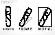 Woodwind repair business logo: R S Woodwinds, llc - Entry #116