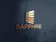 Sapphire Shades and Shutters Logo - Entry #17