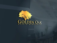 Golden Oak Wealth Management Logo - Entry #25