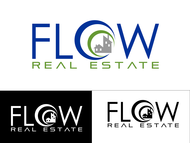 Flow Real Estate Logo - Entry #61
