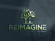Reimagine Roofing Logo - Entry #141
