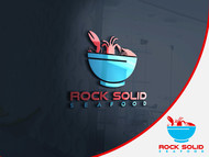 Rock Solid Seafood Logo - Entry #77