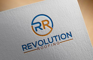 Revolution Roofing Logo - Entry #214