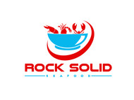 Rock Solid Seafood Logo - Entry #104