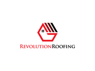 Revolution Roofing Logo - Entry #407