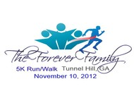 The Forever Family 5K Logo - Entry #25