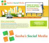 Sasha's Social Media Logo - Entry #188