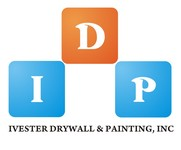 IVESTER DRYWALL & PAINTING, INC. Logo - Entry #127