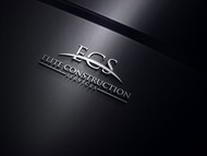 Elite Construction Services or ECS Logo - Entry #121
