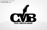 Clay Melton Band Logo - Entry #88