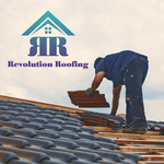 Revolution Roofing Logo - Entry #165