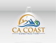 CA Coast Construction Logo - Entry #267