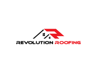 Revolution Roofing Logo - Entry #437