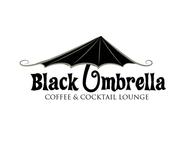 Black umbrella coffee & cocktail lounge Logo - Entry #119